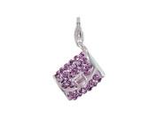 SilveRado (tm) VRB323-7 Verado Bling-Clutch on Me-Purple