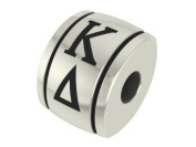 Kappa Delta Barrel Sorority Bead Charm Fits Most Pandora Style Bracelets Including, Chamilia, Troll and More. High Quality Bead in Stock for.