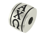 Alpha Chi Omega Barrel Sorority Bead Charm Fits Most Pandora Style Bracelets Including Pandora, Chamilia, Biagi, Zable, Troll and More. Licenced, High Quality Bead in Stock for.