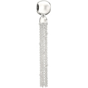 "Authentic Chamilia Sterling Silver Charm ""Sphere Tassel"" 2083-0410"