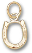 Horse Shoe 1cm Charm - 14KT Gold Jewellery