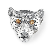Lori Bonn On The Prowl Slide Charm - Authentic Silver Slide Charm