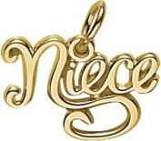 Rembrandt Charms Niece Charm, 10K Yellow Gold