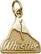 Rembrandt Charms Whistler Mountain Charm, 10K Yellow Gold