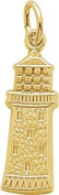 Rembrandt Charms Gibbs Lighthouse, Bermuda Charm, 10K Yellow Gold