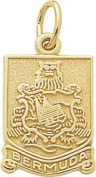 Rembrandt Charms Bermuda Chest Charm, 10K Yellow Gold