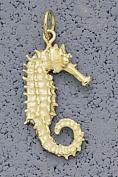 Seahorse 2.2cm Charm - 14KT Gold Jewellery