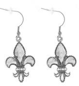 Ganz Fleur De Lis Earrings
