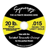 Synergy® .015 Gold- 49 strand - 110ft.