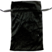The New Age Source Unlined Velvet Bag 3X4 Black Each