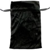 The New Age Source Unlined Velvet Bag 3X4 Black Each