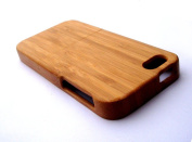 Iphone 4 / 4s Bamboo Walnut Case - Iphone 5 Hand Made Hard Wood Case - Protective Case Shell