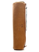 Global Art Classic Leather Pencil Cases tan