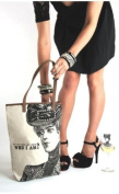 Santa Barbara Design Studio JKC Victorian-Styled Canvas Tote, Do You Have Any Idea Who I am.