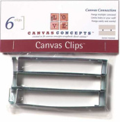 Canvas Concepts Decor Canvas Connector Clips - 6 Per Package