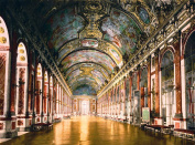 European Exclusive Imagery Collection France The Beautiful. Poster Art. Gallery Of Mirrors Versailles France 492