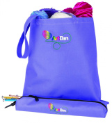 ArtBin 6940SA Needle Arts Tote with Needle Case, Periwinkle