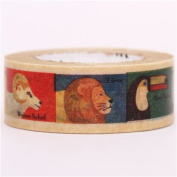 zoo animal mt Washi Masking Tape deco tape