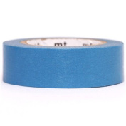 mt Washi Masking Tape deco tape solid pigeon blue
