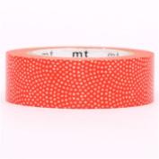 orange mini dots mt Washi Masking Tape deco tape