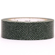 dark green mini dots mt Washi Masking Tape deco tape