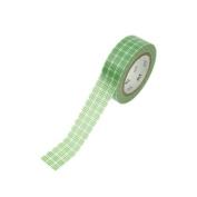 Japanese Washi Masking Tape - Graph Green