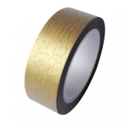 Dress My Cupcake DMC41WTMCgold Washi Decorative Tape for Gifts and Favours, Solid Gold