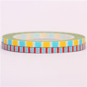 super slim stripe blue mt Washi Masking Tape deco tape