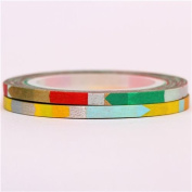 very slim mt Washi Masking Tape deco tape with patterns