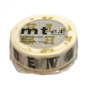 Masking tape mt ex Alphabet R black