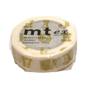 Masking tape mt ex Alphabet R gold