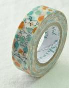 Shinzi Katoh Masking Tape -Sereno Polka Dot Shower