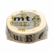 Masking tape mt ex Vowel-R-black