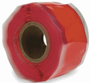 Emergency Repair Tape, Self-Fusing Silicone Tape, 12' x 2.5cm , Red