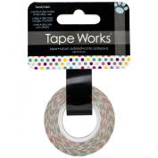 Tape Works Tape, Multi Coloured Polka Dots