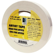 Art Alternatives Economy White Artists Tape - 2.5cm X 60 Yards