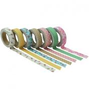 YazyCraft Decorative Patterned Tape 7 rolls