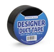DARICE JFL2507 Duct Tape, Midnight Black