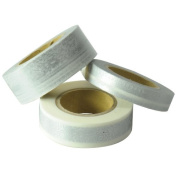 Japanese Washi Masking Tape Set of 3 - Scrapaholic Lace Silver