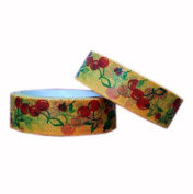 Set of 2 [Cheery] Tear-off Tape Masking Tape Washi Tape Handcraft MT DTY
