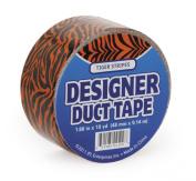 DARICE JFL2509 Duct Tape, 10-Yard, Tiger Orange