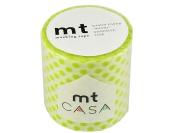 Masking tape 50MM width × 10M roll MTCA5027 dot light green