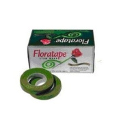 1.3cm X 30 Yard Light Green Floral Tape Packs of 12