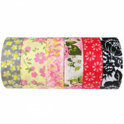 Wrapables Japanese Washi Masking Tape Collection, Premium Value Pack