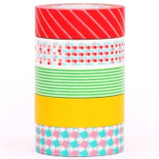 pop mt Washi Masking Tape deco tape set 5pcs box