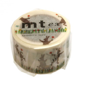 Masking tape (squirrel and rabbit) tape 30mm Stacking mt ex