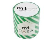 Masking tape 50MM width × 10M roll MTCA5021 stripe Green