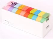 light colours mt Washi Masking Tape deco tape set 10pcs