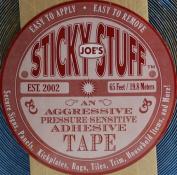 Joe's Sticky Stuff 1.9cm X 65' Roll Aggressive Pressure Sensitive Adhesive Tape