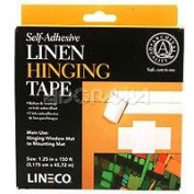 Self Adhesive Archival Linen Hinging Tape- 3.2cm x 150ft